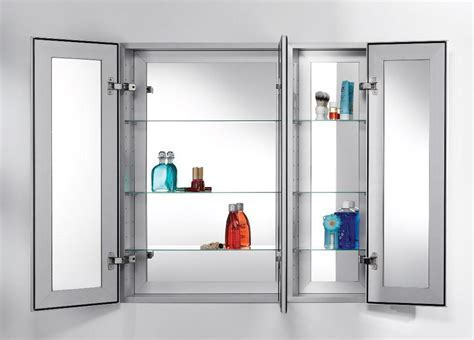 Functional And Attractive Medicine Cabinet Recessed ? The