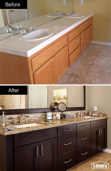 Cabinets In Bathroom by Custom Cabinets In A Chocolate Finish Paired With
