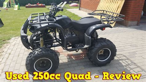 Cheap Chinese 250cc Quad Atv After 2 Years