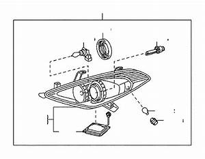9098120024 - Headlight Bulb