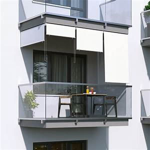 Senkrechtmarkise Für Balkon : au enrollo balkon senkrechtmarkise 180 x 140cm wei jarolift ~ Frokenaadalensverden.com Haus und Dekorationen