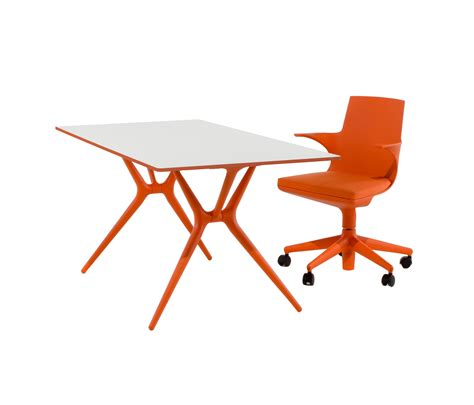 chaise spoon spoon table individual desks from kartell architonic