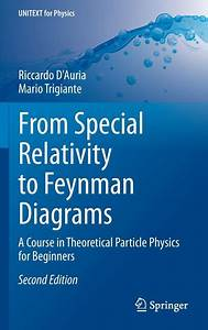 Unitext For Physics  From Special Relativity To Feynman