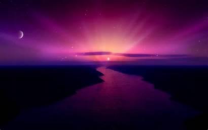 Purple Desktop Pretty Wallpapers Widescreen Wallpapersafari Sunrise