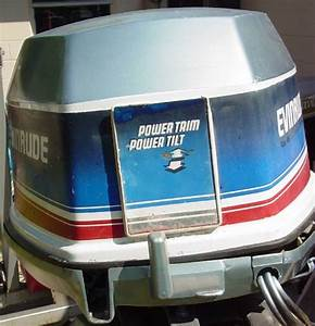 Evinrude 90 Hp Outboard Motor
