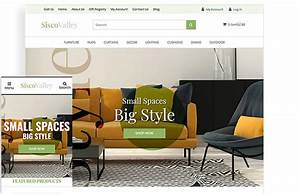 Furniture Store Free Website Template For Ecommerce 3dcart