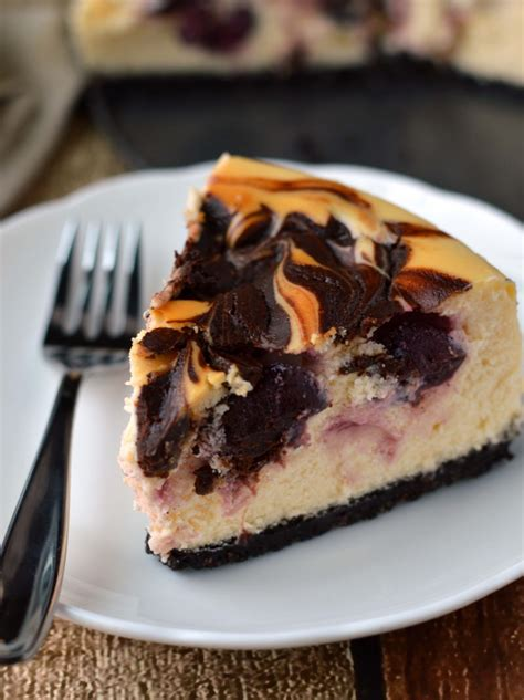 chocolate covered cherry cheesecake friday  cake night