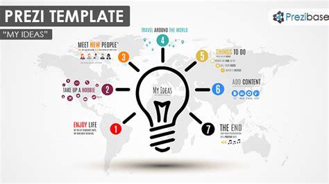 My Ideas - Prezi Presentation Template | Creatoz collection