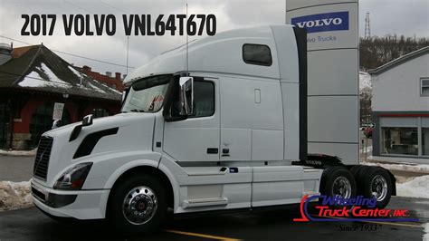 new truck volvo 2017 2017 volvo truck vnl670 tandem axle sleeper new truck for
