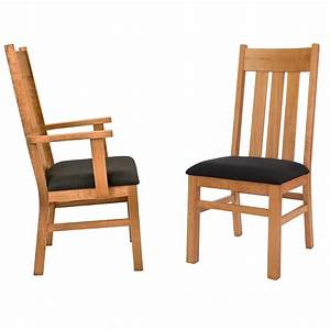 Modern Mission Dining Chair Custom Chairs By Vermont Woods ...