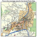 Aerial Photography Map of Santa Fe, NM New Mexico