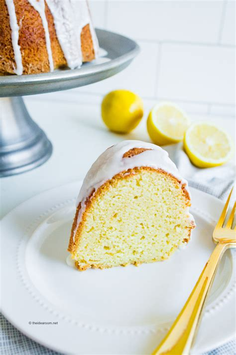lemon pound cake recipe  sour cream