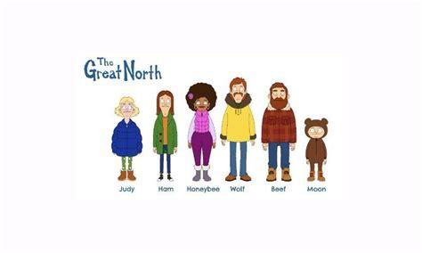 fox  ups  great north   series premiere
