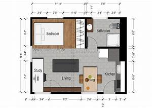 small one bedroom apartment floor plans thefloorsco With one room apartment design plan
