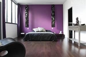 link tags chambre baroque moderne mauve noir et blanc pictures With chambre blanc et noir