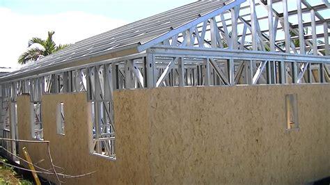 maison ossature metallique prix maison a ossature metallique prix volume du garage en contrebas respectant ainsi le le dnivel