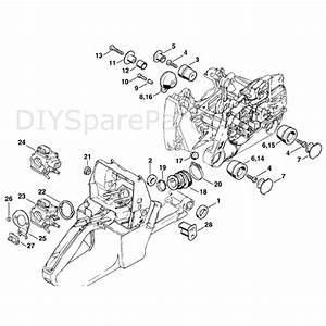 Stihl Ms 440 Chainsaw  Ms440 Magnum R  Parts Diagram  Av