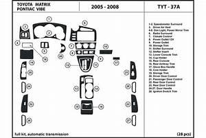 Dl Auto U00ae Toyota Matrix 2005