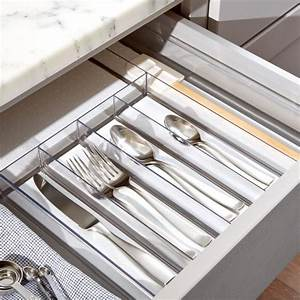 Madesmart Clear Drawer Organizer + Reviews | Crate and Barrel