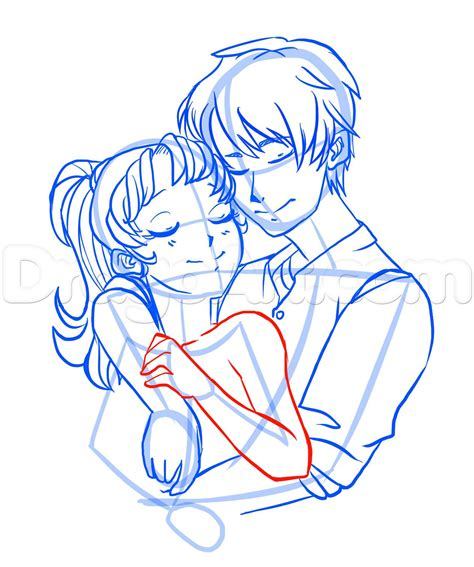 anime couple draw how to draw anime couples step by step anime people