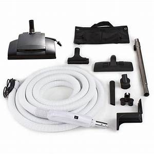 Prolux 30 Ft  Central Vacuum Hose Kit With Vessel Werk
