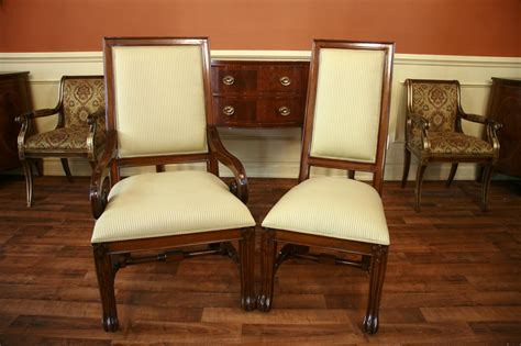 Large Mahogany Dining Room Chairs, Luxury Chairs