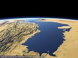 The Persian Gulf from northwest - Imagico.de Geovisualizations