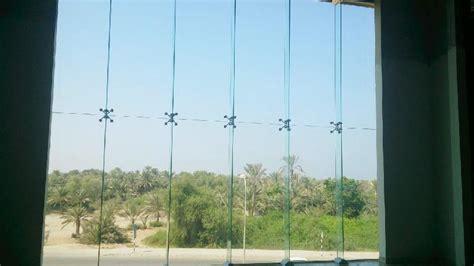 frameless spider glass curtain walls exporter supplier  oman