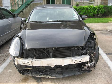 wrecked car before and after my g35 brought back to life before and after wreck