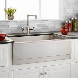 27quot piers stainless steel farmhouse sink beveled apron With 27 apron front sink