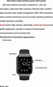 Usmart Electronic Technology K8 Smart Watch User Manual