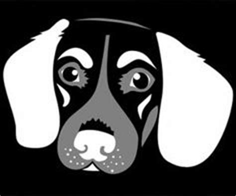 dog jack russell silhouette illustration pets