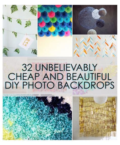 Easy Photo Background Ideas by 32 Unbelievably Cheap And Beautiful Diy Photo Backdrops