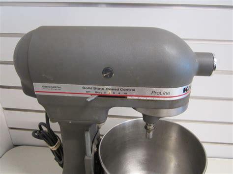 Kitchenaid Mixer Ksm5 by Vintage Kitchenaid Ksm5 Pro Line Household Mixer W 3