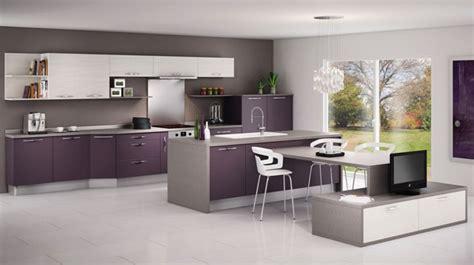 aubergine cuisiner cuisine équipée aubergine cuisine en image