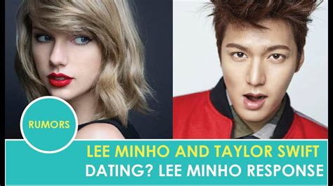 Lee Minho and Taylor Swift Are Dating? | Lee Minho's ...