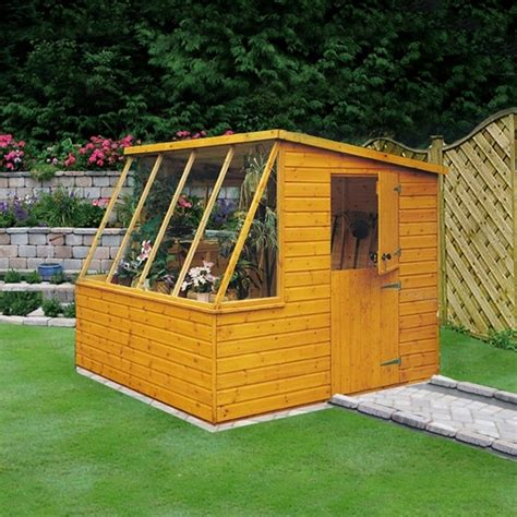 shire iceni potting shed 6x8 garden