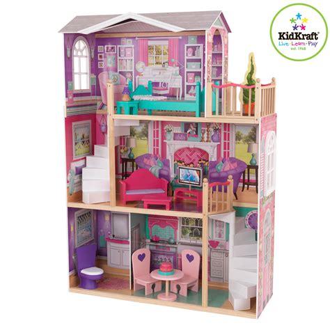 kidkraft dollhouse toddler bed kidkraft dolhouse for 46 cm dolls 65830