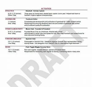 notes from peabody the uva application process sending With common app resume template