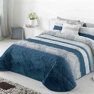 Couvre Lit Bleu Canard : couvre lit bleu ~ Teatrodelosmanantiales.com Idées de Décoration
