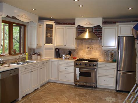 Dazzling Painting Kitchen Cabinets Diy For Your New