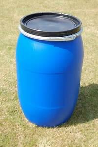Kunststofftonne Mit Deckel : fass tonne 220 liter kunststoff blau deckel mit dichtung neu unbenutzt ebay ~ Yasmunasinghe.com Haus und Dekorationen
