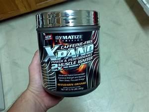 Dymatize Xpand 2x Caffeine Free Review