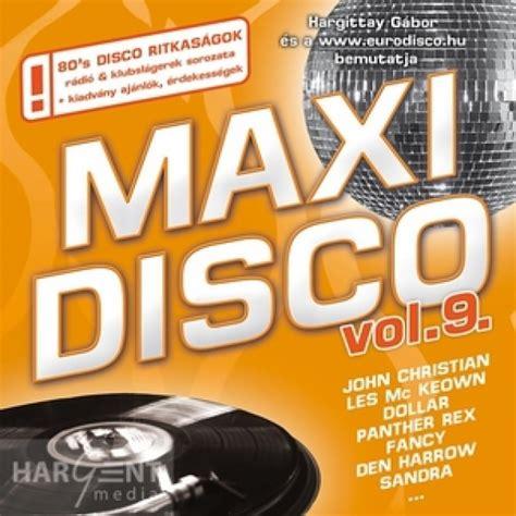 Válogatás Maxi Disco 9 (hargent Media) Válogatás