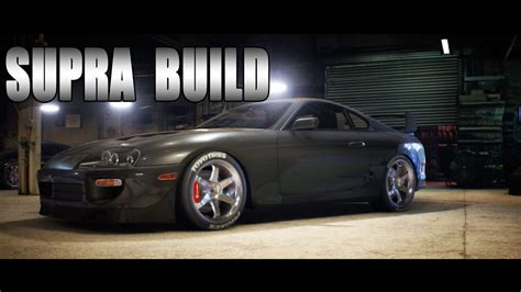 speed  toyota supra build racing gameplay