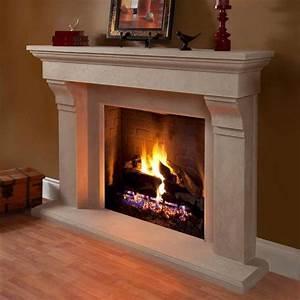 Design Ideas Cast Stone Fireplace Mantel Stone Mantle