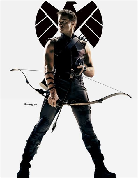Clint Barton Hawkeye Love This Look Not Gonna Lie