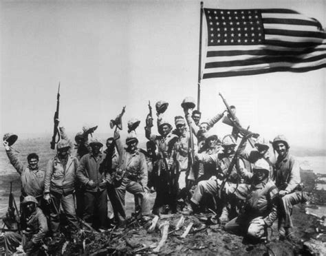 raise the siege feb 23 1945 u s flag raised on iwo jima during the