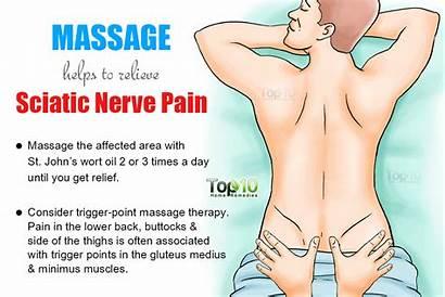 Pain Sciatic Nerve Sciatica Massage Remedies Relief