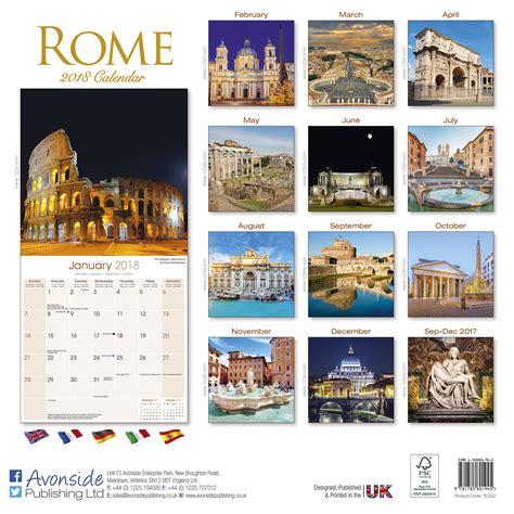 rome calendar pet prints